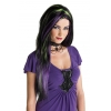 Rebel Witch Wig Black/purple/green